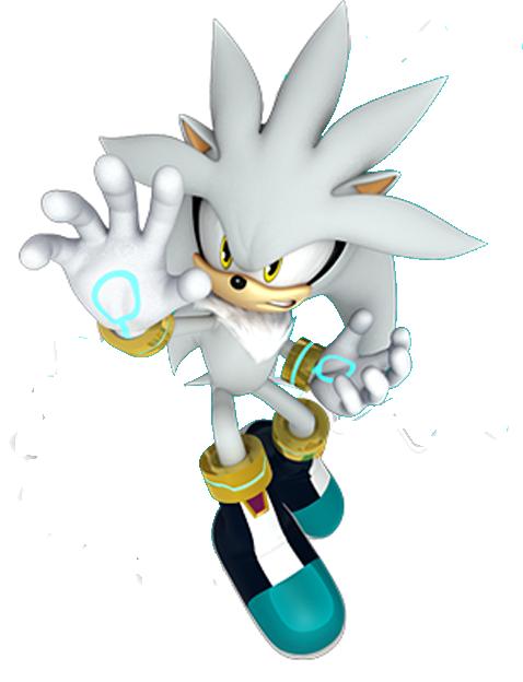 Sonic Silver The Hedgehog Sonic Modern Figure Game Silver The Hedgehog Sonic Fan Art Hedgehog