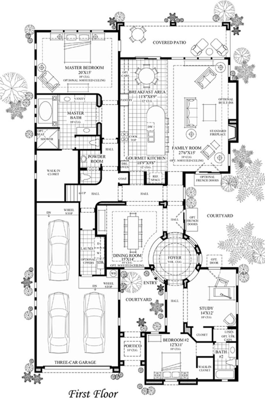Sendero Floor Plan Home Design Floor Plans Home Building Design Mountain House Plans