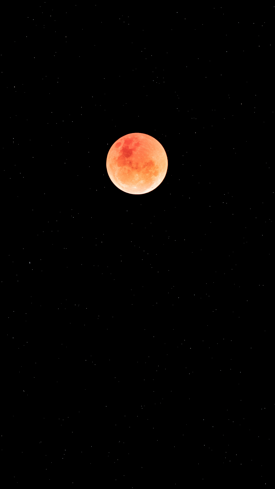 Red Moon Oledified Android Wallpaper Space Red Moon Iphone