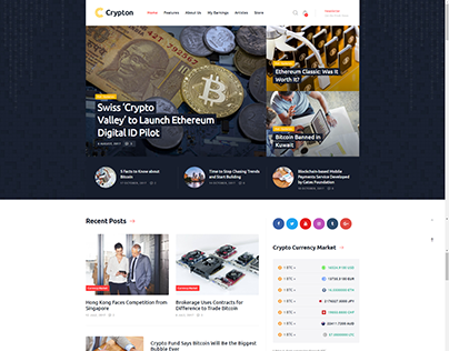 Cryptocurrency custom video templates