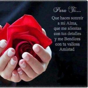 Gracias Por Tu Amistad Love Pinterest Amistad Amigas
