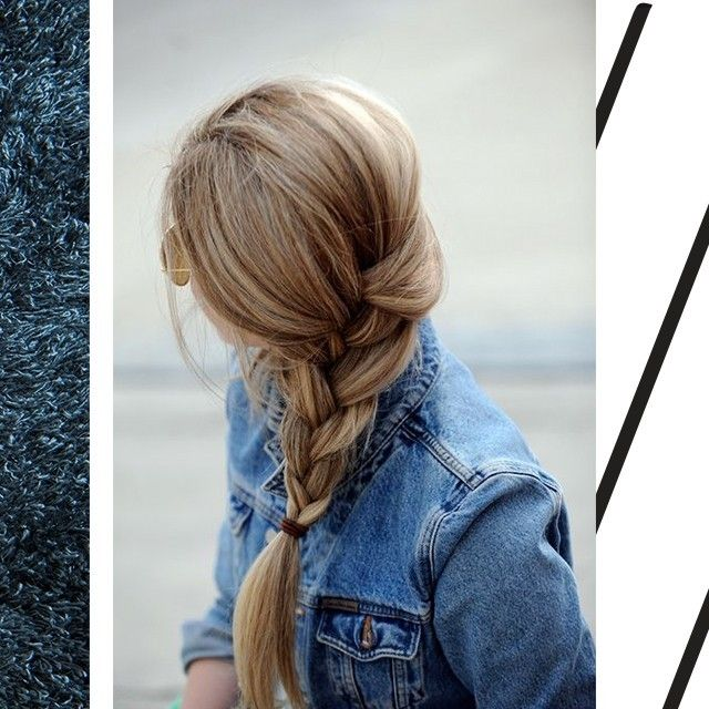 Uma tranca simples ja da outro ar ao look.   #ValentinaFlats #hair #fashion #loveit #love #shoelovers #nice #style #denim