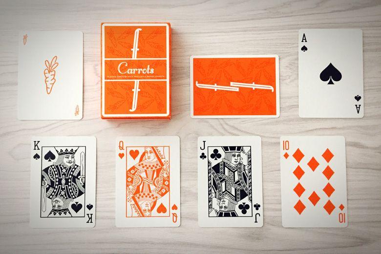 Kết quả hình ảnh cho FONTAINE CARROTS PLAYING CARDS
