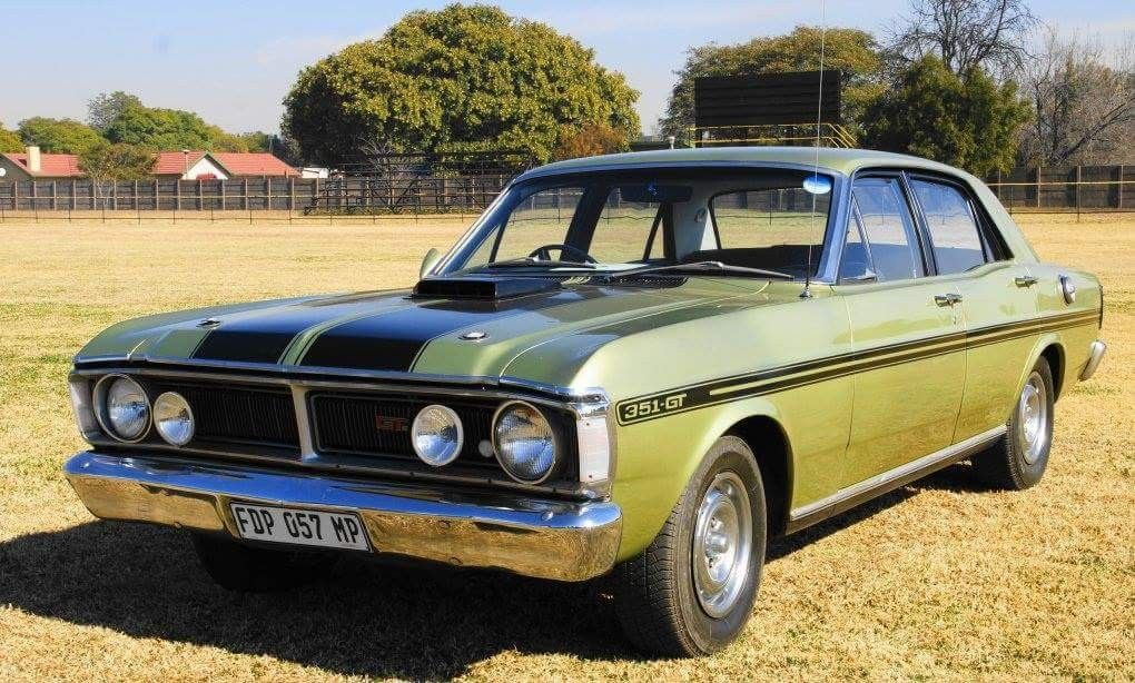 Ford Fairmont Gt 351 South Africa Classic Cars Ford Trucks