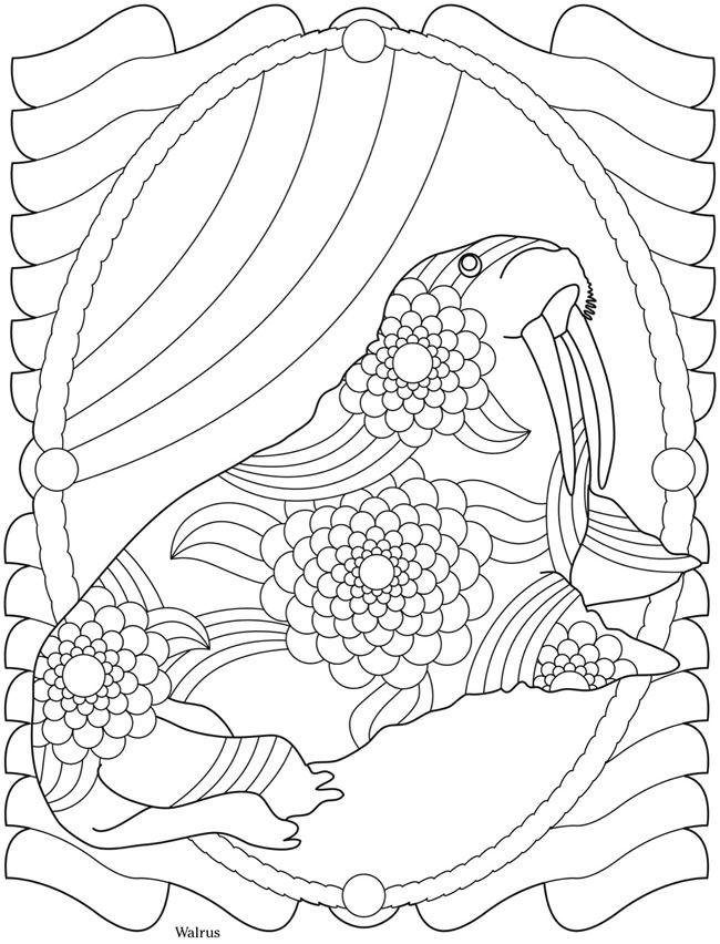 Welcome to Dover Publications | Animal Mandelas, Zentangles etc. to ...