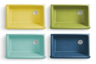 Flower power kitchen and bathroom sinks - new from Kohler + ...