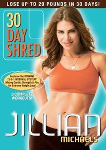 Jillian Michaels  30 Day Shred. The first work out video that jump started my weight loss journey. After three years, still return to it occasionally when I want to do just a short workout.