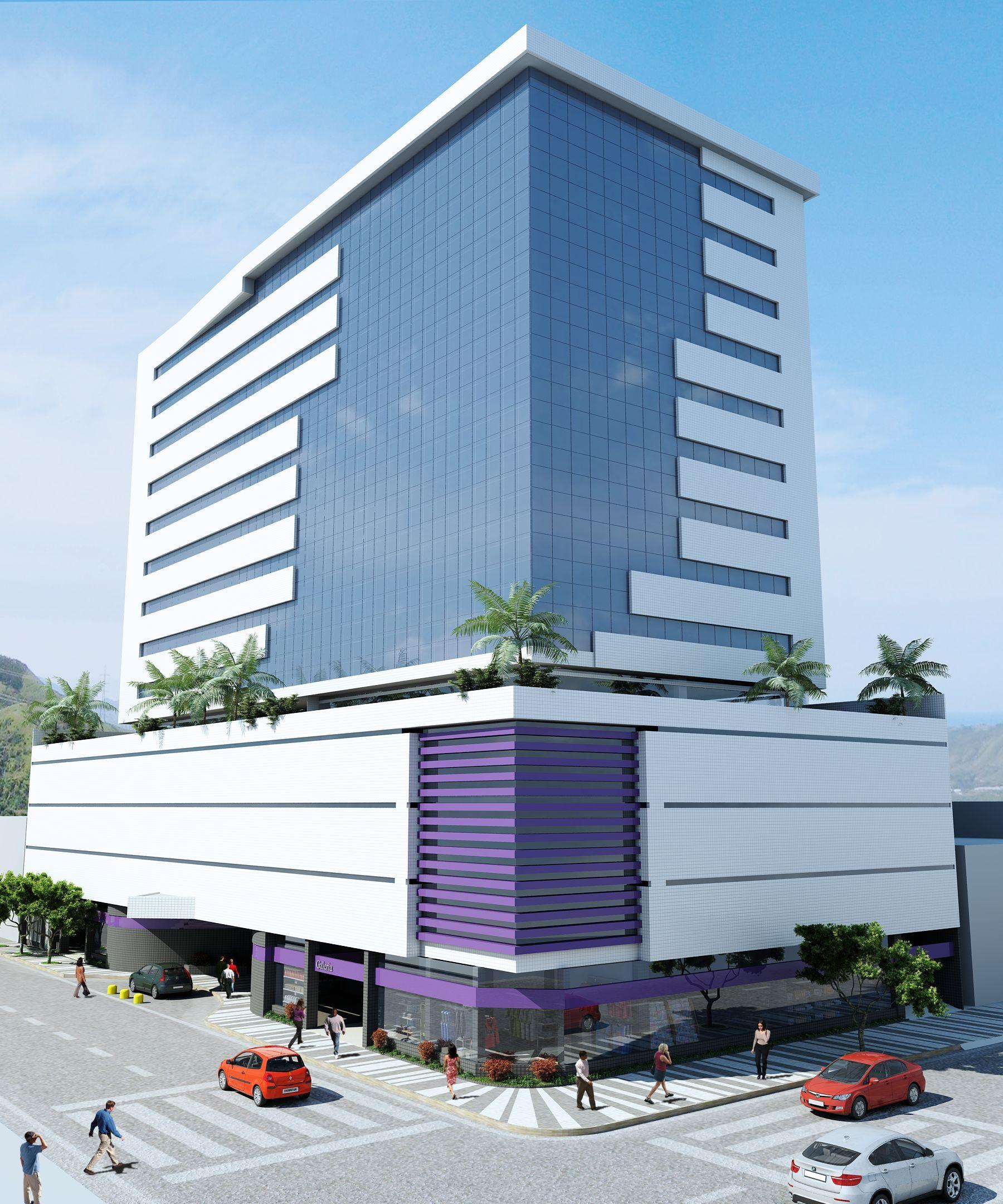 Business Center  Projeto - RUI CÓRES Architect - Cicon Construtora - Bahia - Brazil