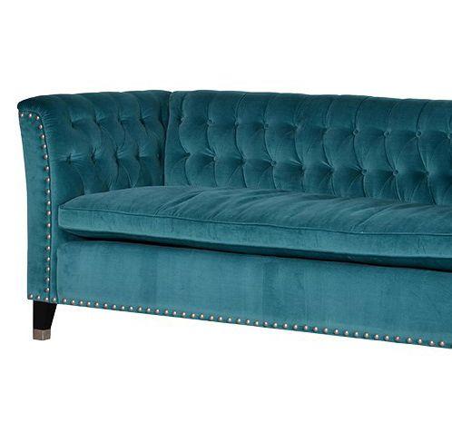 Turquoise Velvet Sofa Http Shabby Co Uk