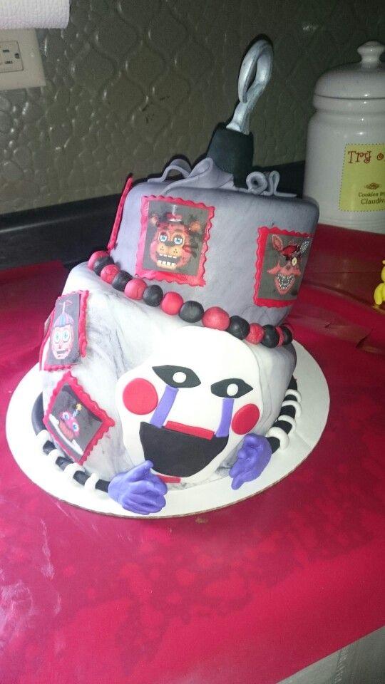 Five Nights At Freddys Cake Fnaf Cake Halloween