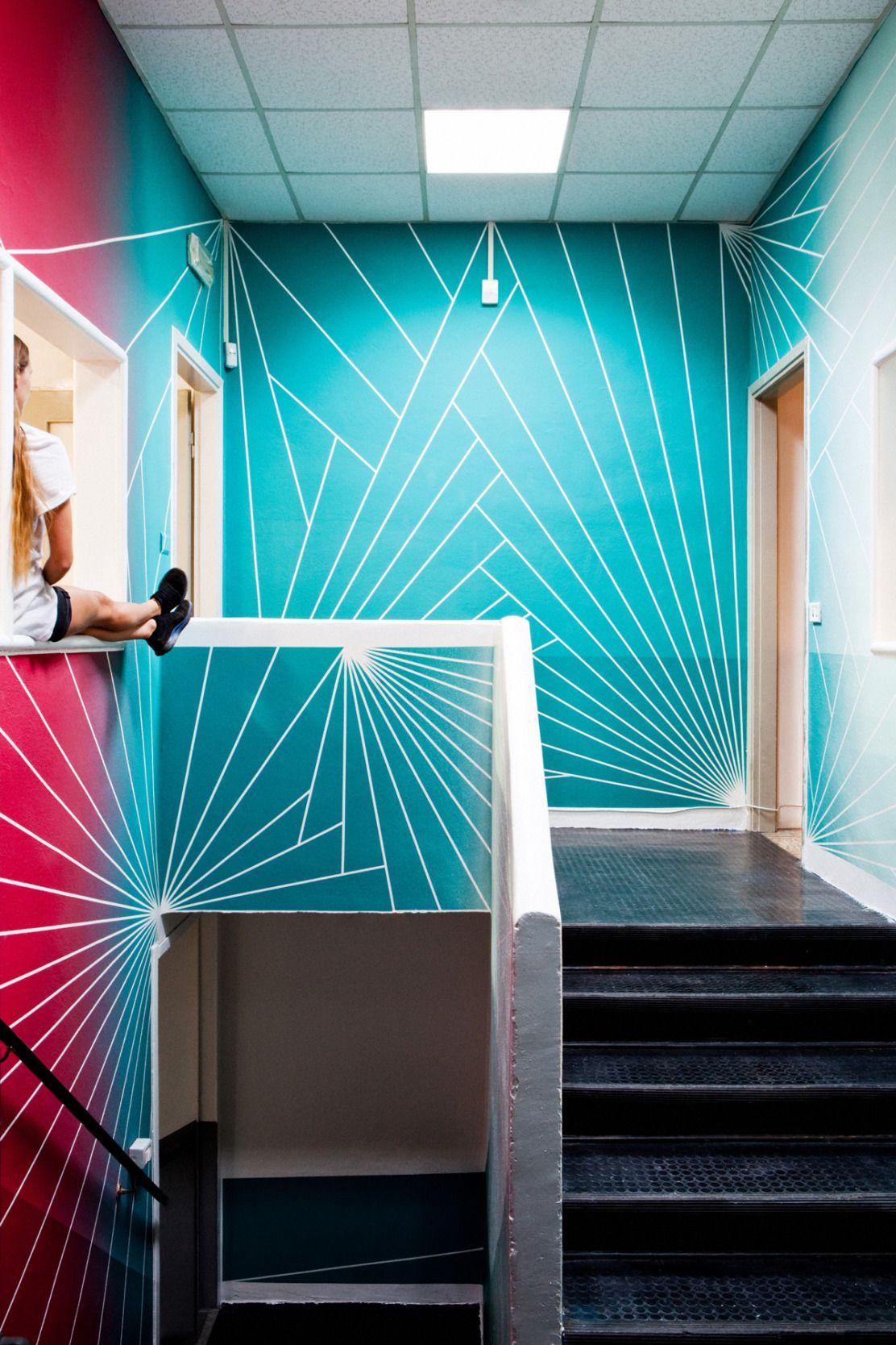 Muri geometrici per decorare gli ambienti della casa