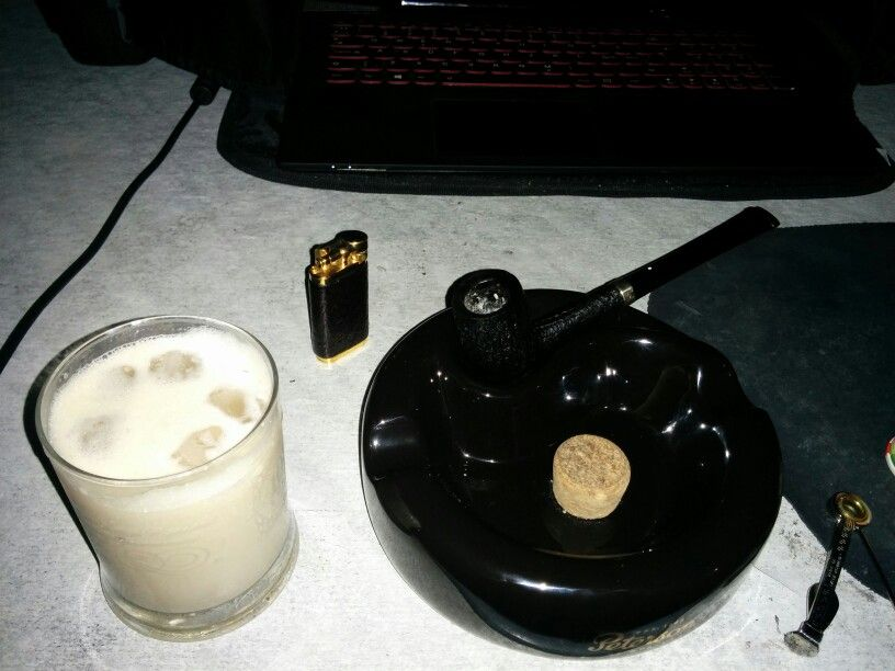 White Russian and Dunhill (Murray) Nightcap. Remarkable.