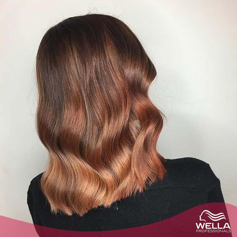 لون خريفي من الجذور الى الأطراف Autumn Hair From The Roots To The Ginger Tips By Alice Elizabeth Hair Pumpki Hair Looks Hair Styles Long Hair Styles