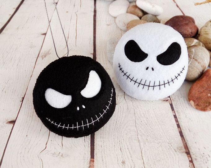 halloween decoracin jack skellington juguete fieltro spooky halloween regalo baby shower favorece la pesadilla antes de - Adornos Halloween
