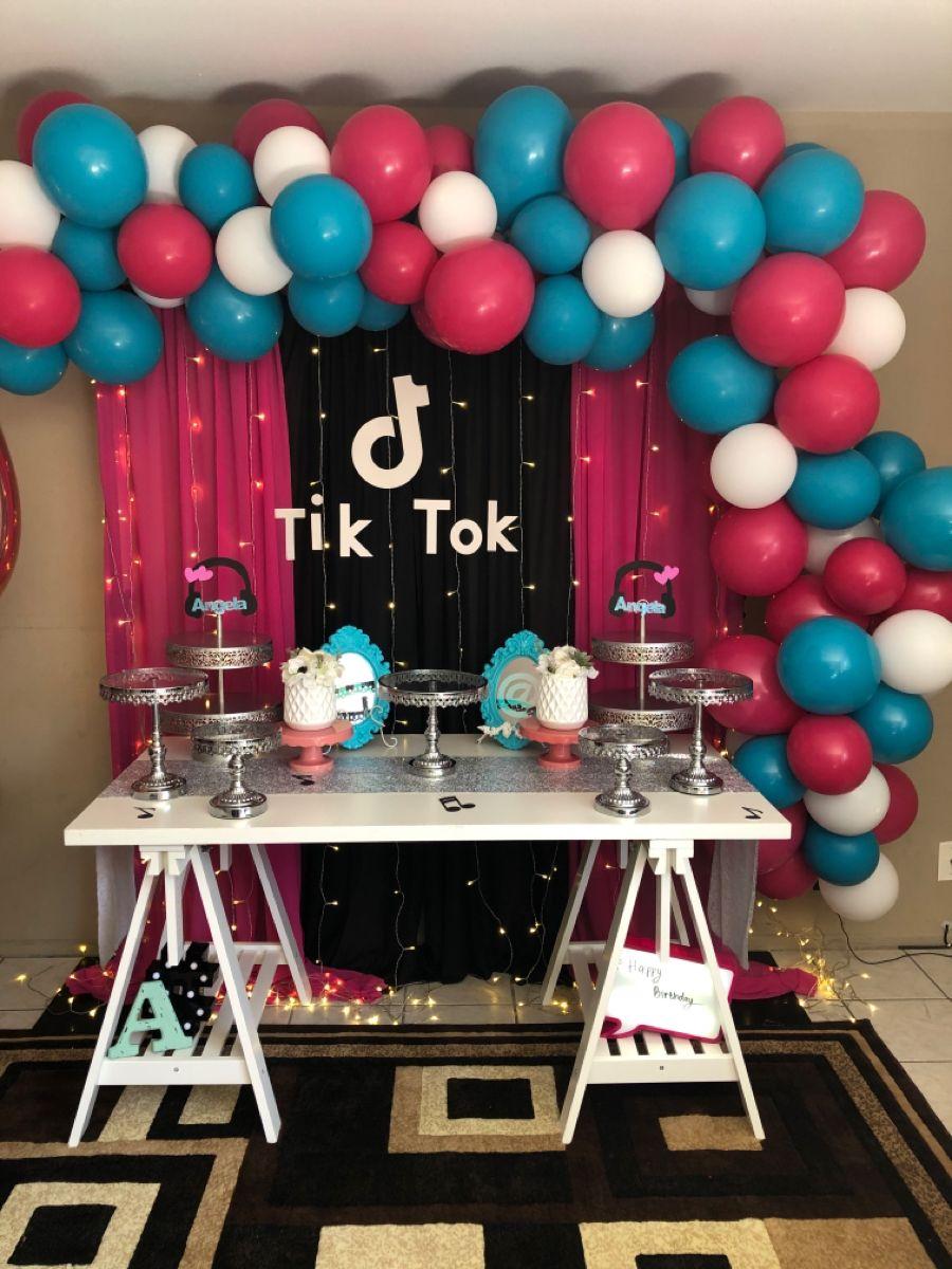 Tik Tok Dessert Party Table Girl Birthday Decorations Dance Party Birthday Family Birthdays