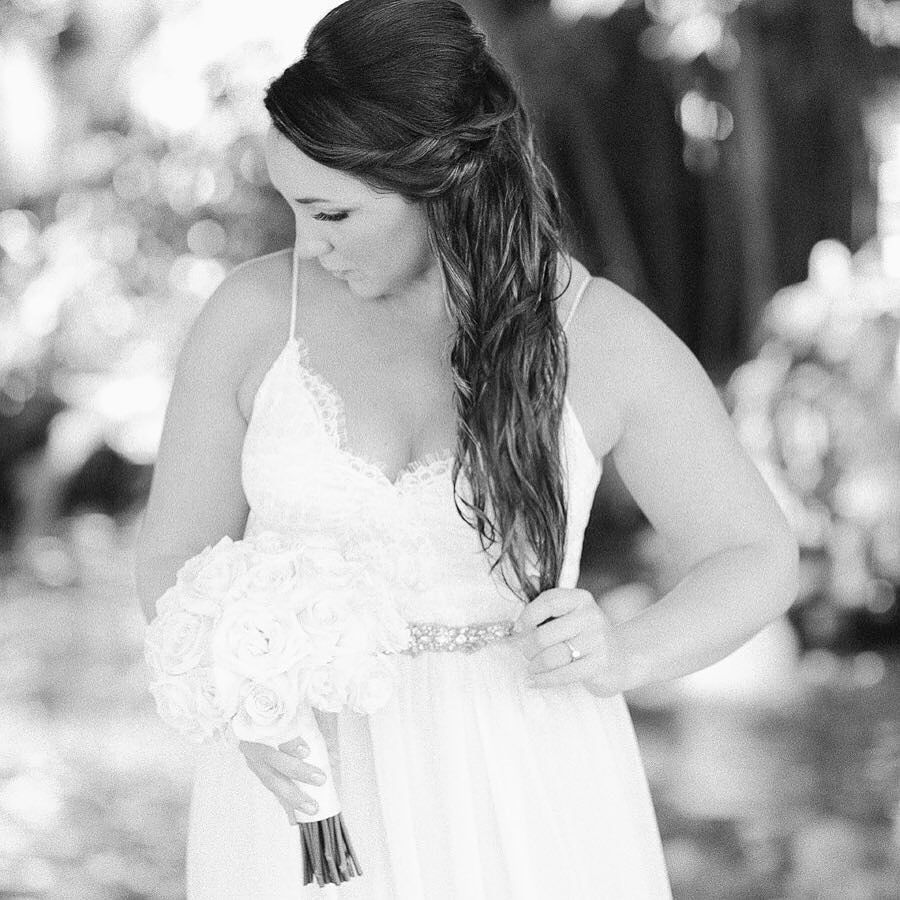 The beautiful Katie in her @clairepettibone dress from @posh_bride - new blog post up on the wonderful #destinationwedding I recently shot in the #dominicanrepublic  #film by jodysavagephotography