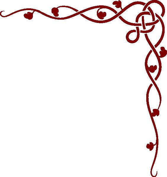 Old Rose Vine Border Reversed Clip Art Vector Clip Art Online Clipart Best Clipart Best Vine Border Clip Art Flower Clipart