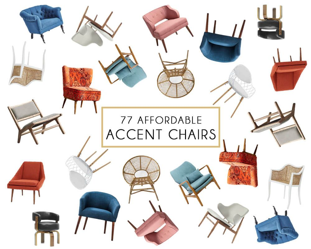 Affordable Accent Chair Roundup Emily Henderson Accent Chairs Affordable Chair Affordable Home Decor