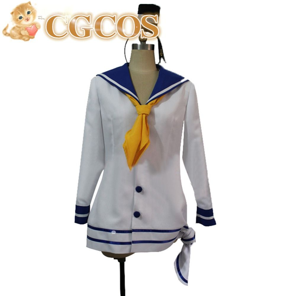 >> Click to Buy << CGCOS Free Shipping Cosplay Costume Kantai Collection Tokitsukaze New in Stock Halloween Christmas Party Uniform #Affiliate