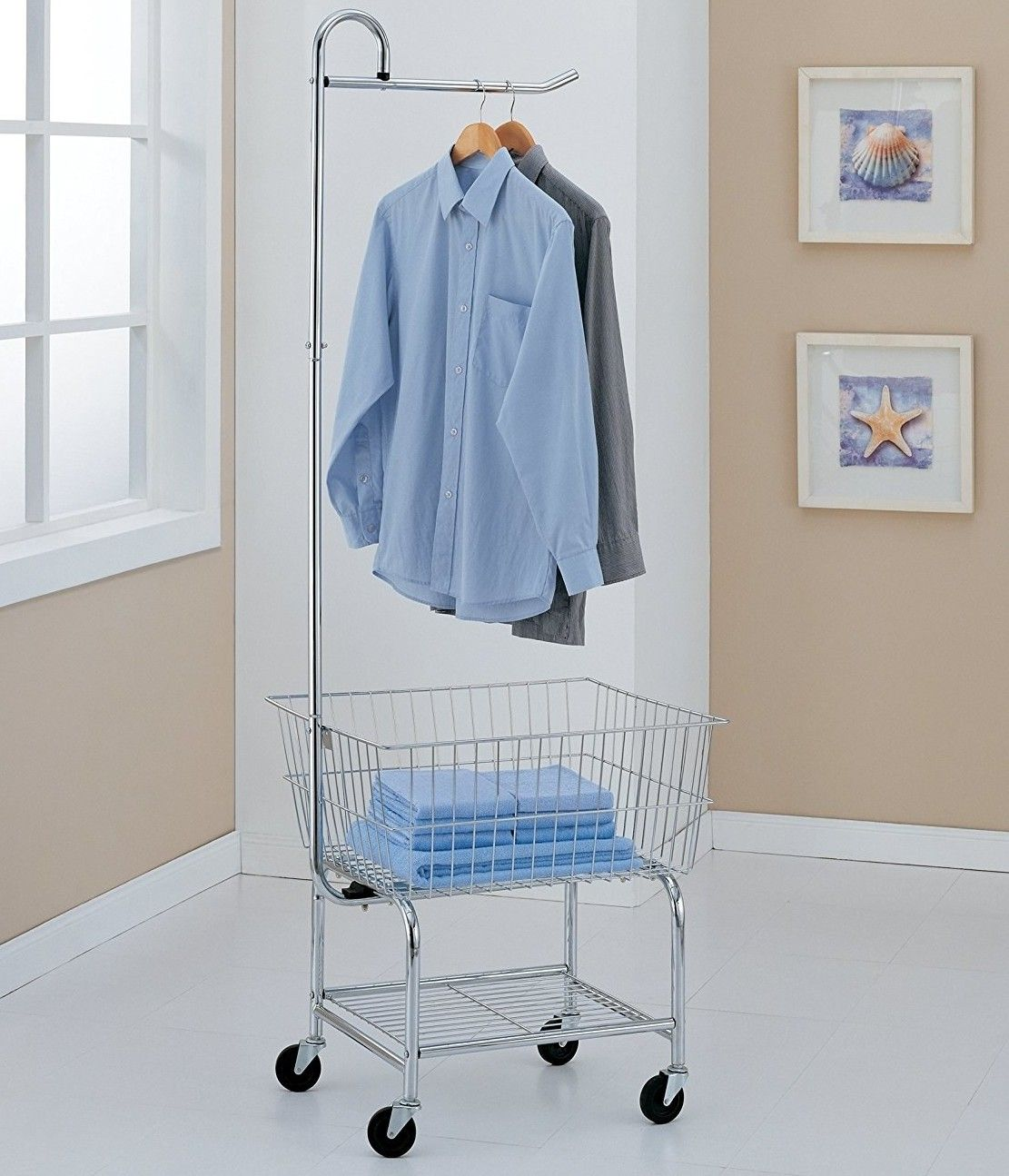 23 Things That Ll Help You Get The Laundry Room Of Your Dreams Laundry Cart Laundry Center