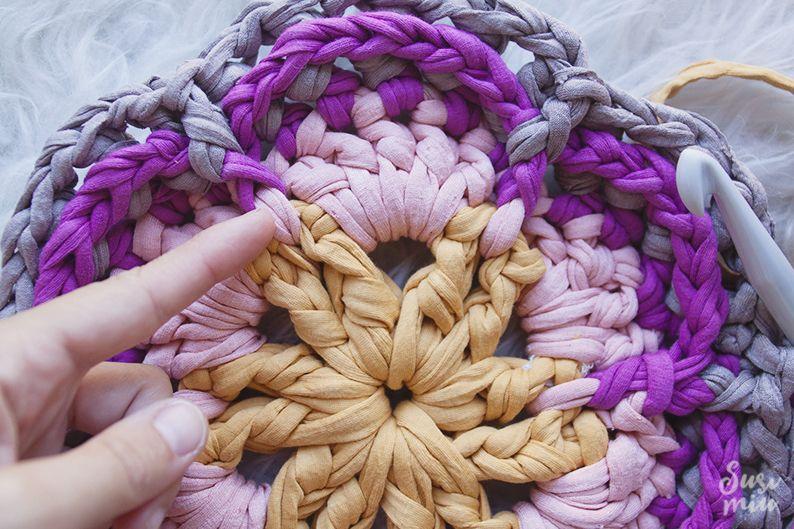 alfombra crochet redonda - Buscar con Google | crochet | Pinterest ...