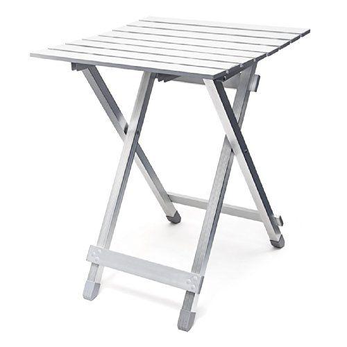 Relaxdays Table Pliante Aluminium Table D Appoint Jardin Camping