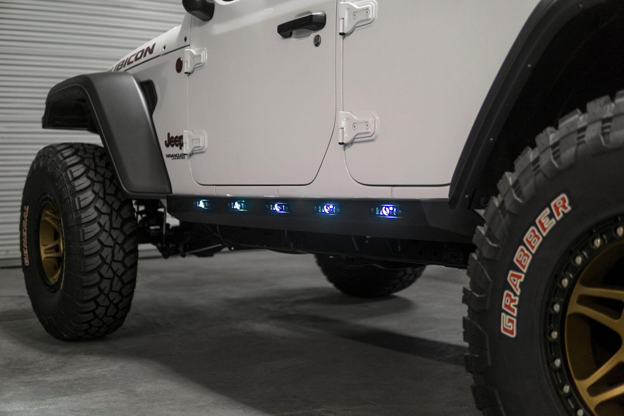 2018 2020 Jeep Wrangler Jl Rock Sliders Jeep Jl Jeep Wrangler