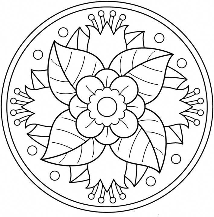 page of printable mandalas...great coloring tool for