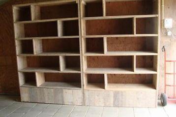 ≥ boekenkast van gebr steigerhout - Kasten   Boekenkasten ...