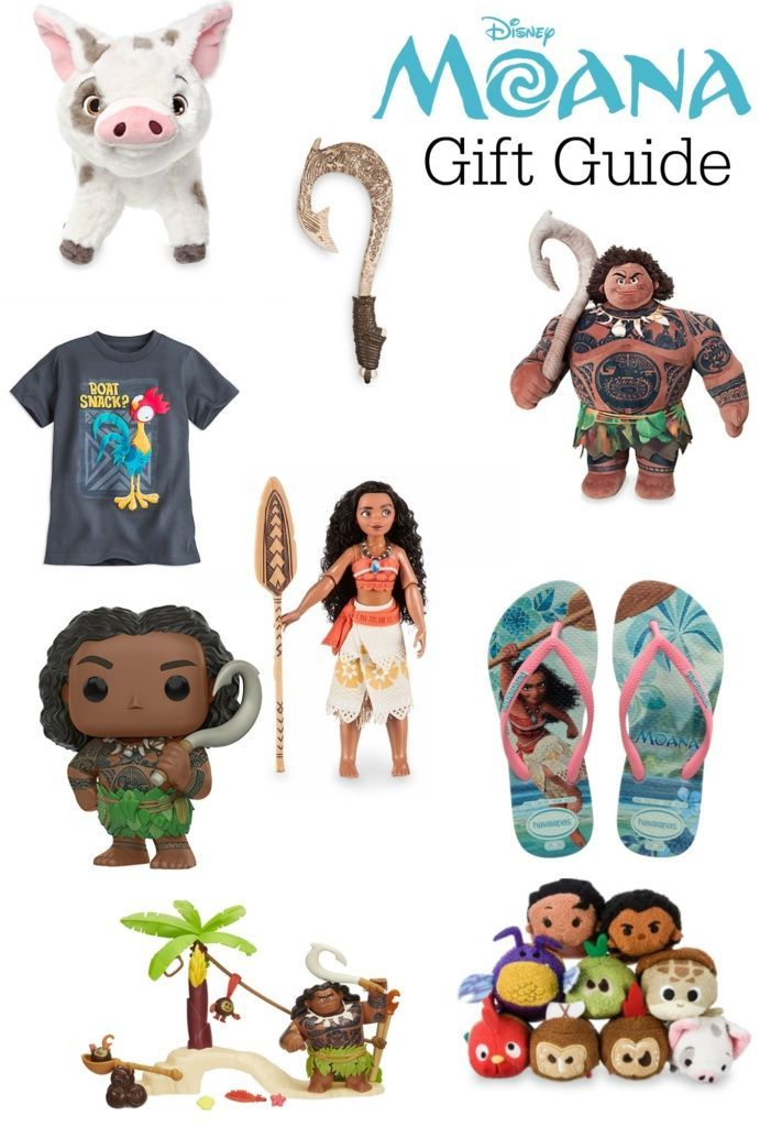Holiday Gift Guide for Moana