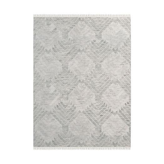 diamond steps wool dhurrie platinum rugs modern rugs rh pinterest com