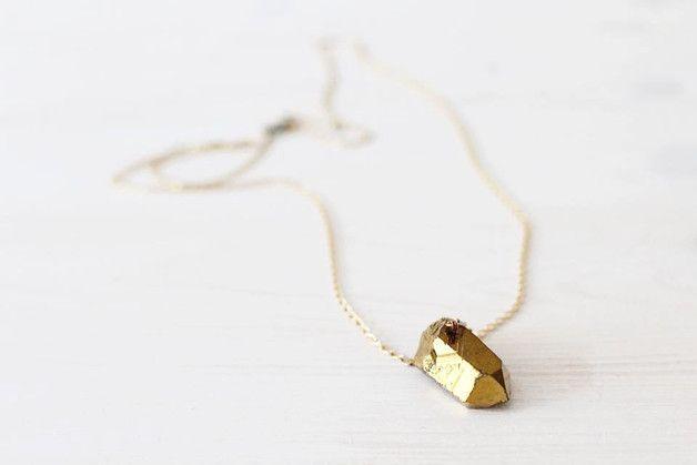 Lange goldkette modeschmuck