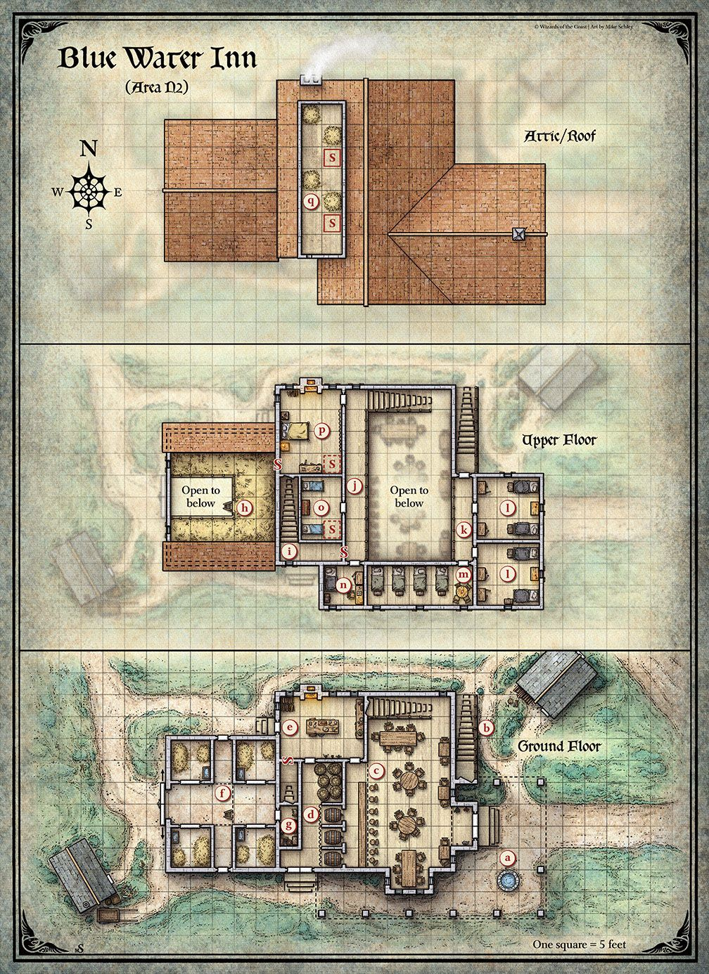 This Tactical Battle Map Was Created For The Dungeons Dragons Rpg Adventure Curse Of Strahd Tabletop Rpg Maps Dungeon Maps Pathfinder Maps