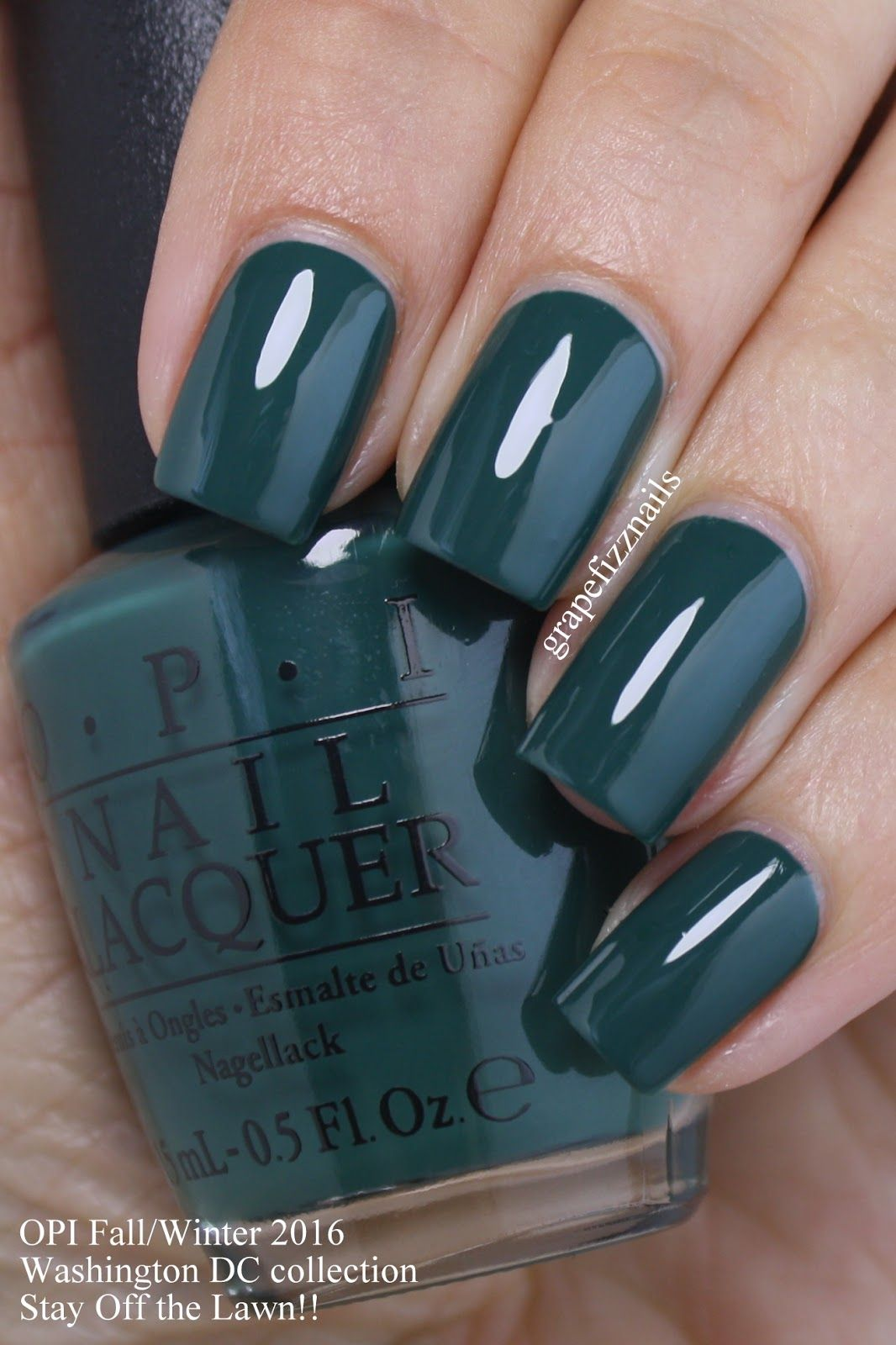 Grape Fizz Nails: OPI Washington DC Collection for Fall/Winter 2016 ...
