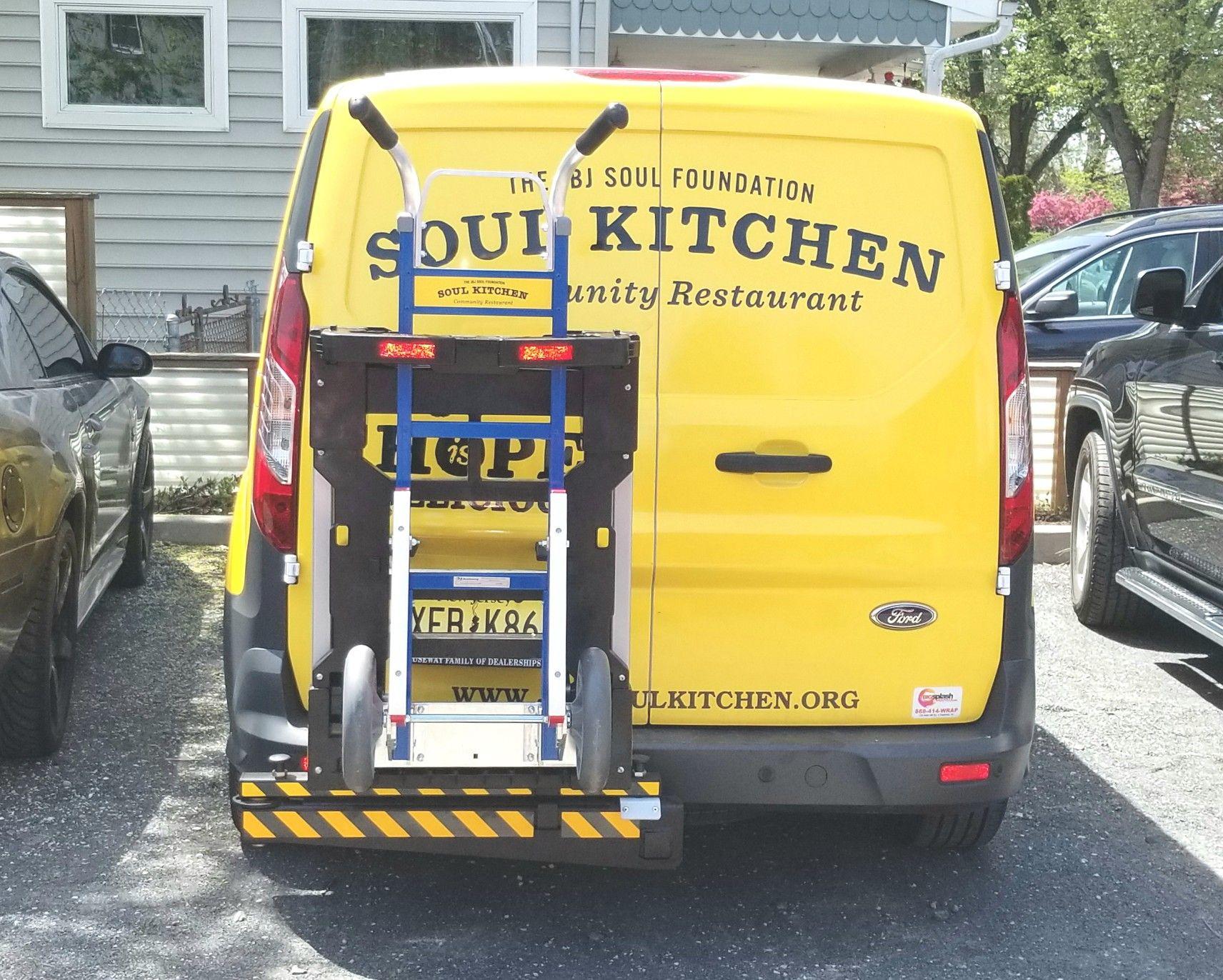 Jbj Soul Kitchen Community Restuarant Ford Transit Connect Mini