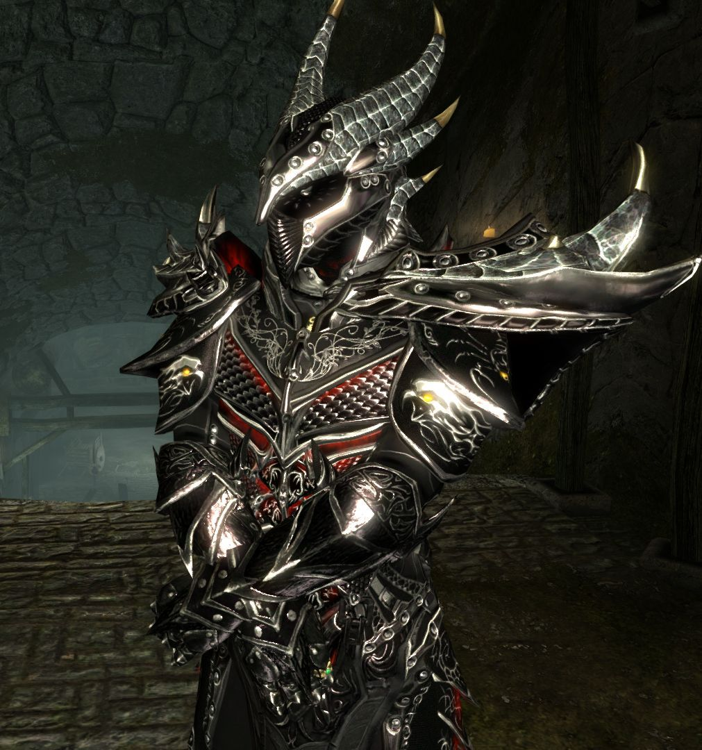 Pin By Diane R On Dragon Blades Armor Daedric Armor Dragon Armor Elder Scrolls Art The helmets for both sets look stupid as hell. daedric armor dragon armor elder