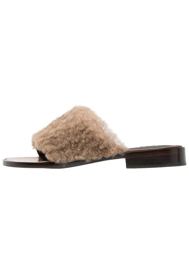 Kellen slipper bear brown tibi