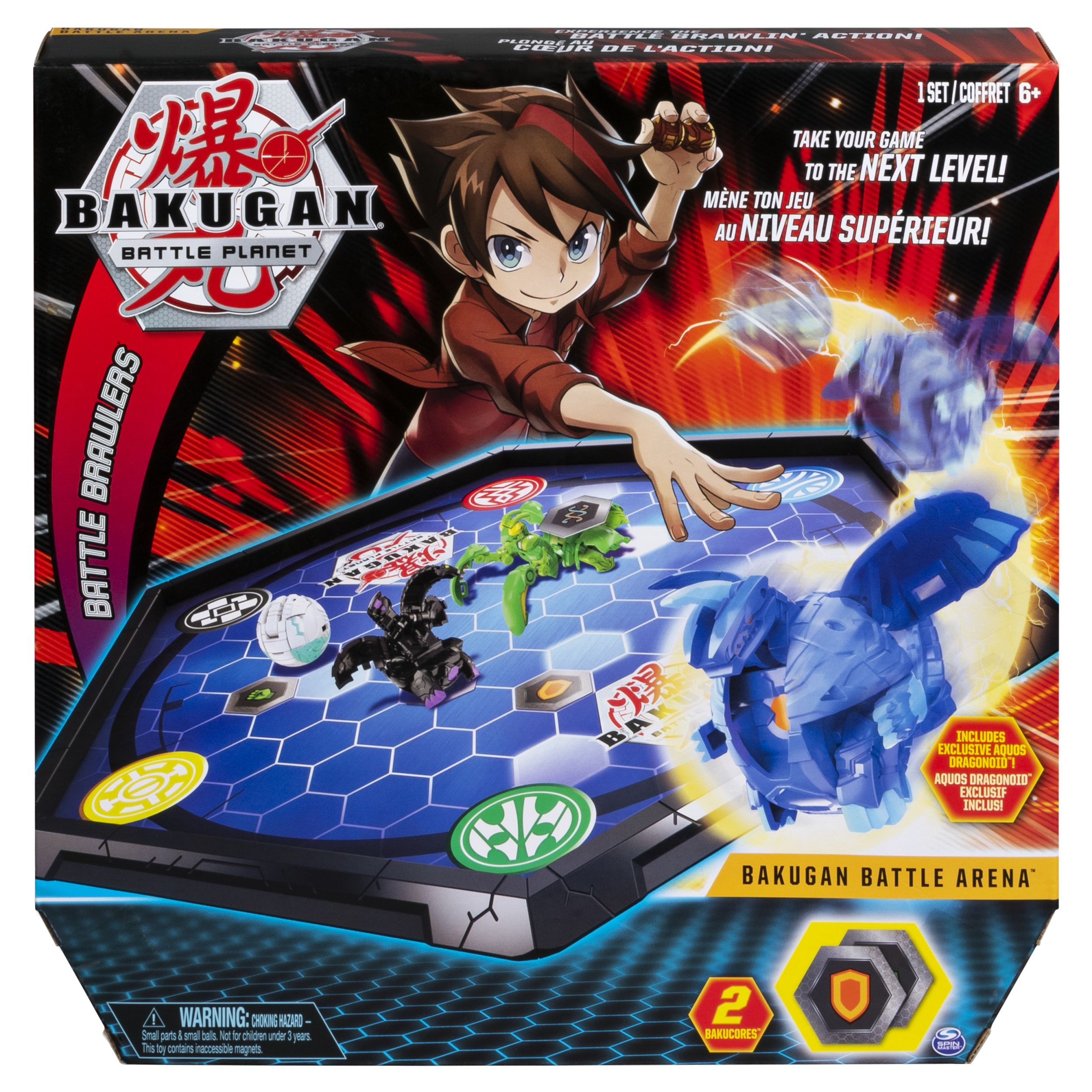 Bakugan Battle Arena Game Board For Bakugan Collectibles For Ages 6 And Up Edition May Vary Walmart Com In 2021 Bakugan Battle Brawlers Board Games Battle