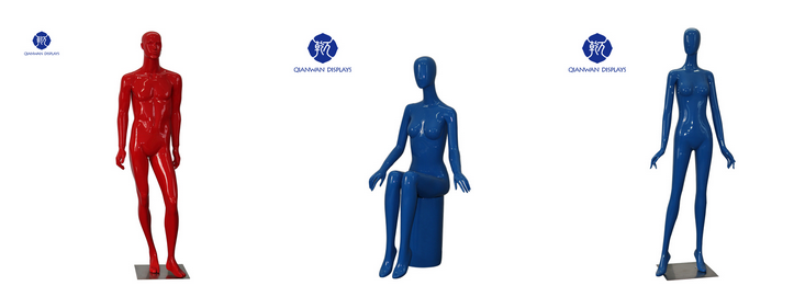 Color Female Mannequin for Sale #colormannequins #femalemannequins #mannequinsforsale #mennequins