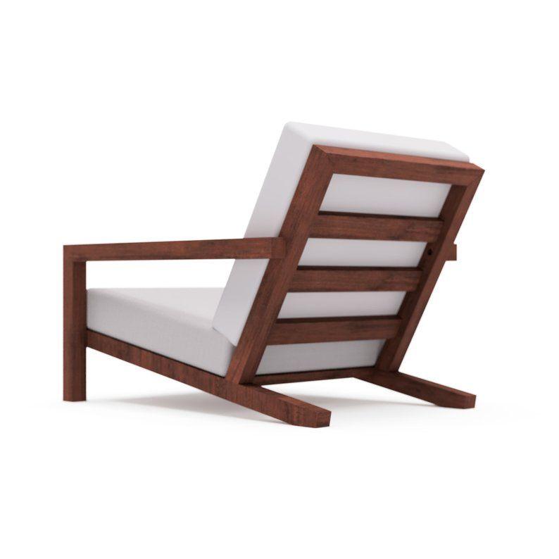 Diy File For Modern Garden Lounge Chair Stool Diy Building Etsy