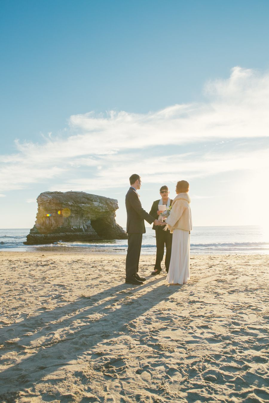 Elizabeth Jonathan Santa Cruz Beach Wedding Photography Hayley Anne