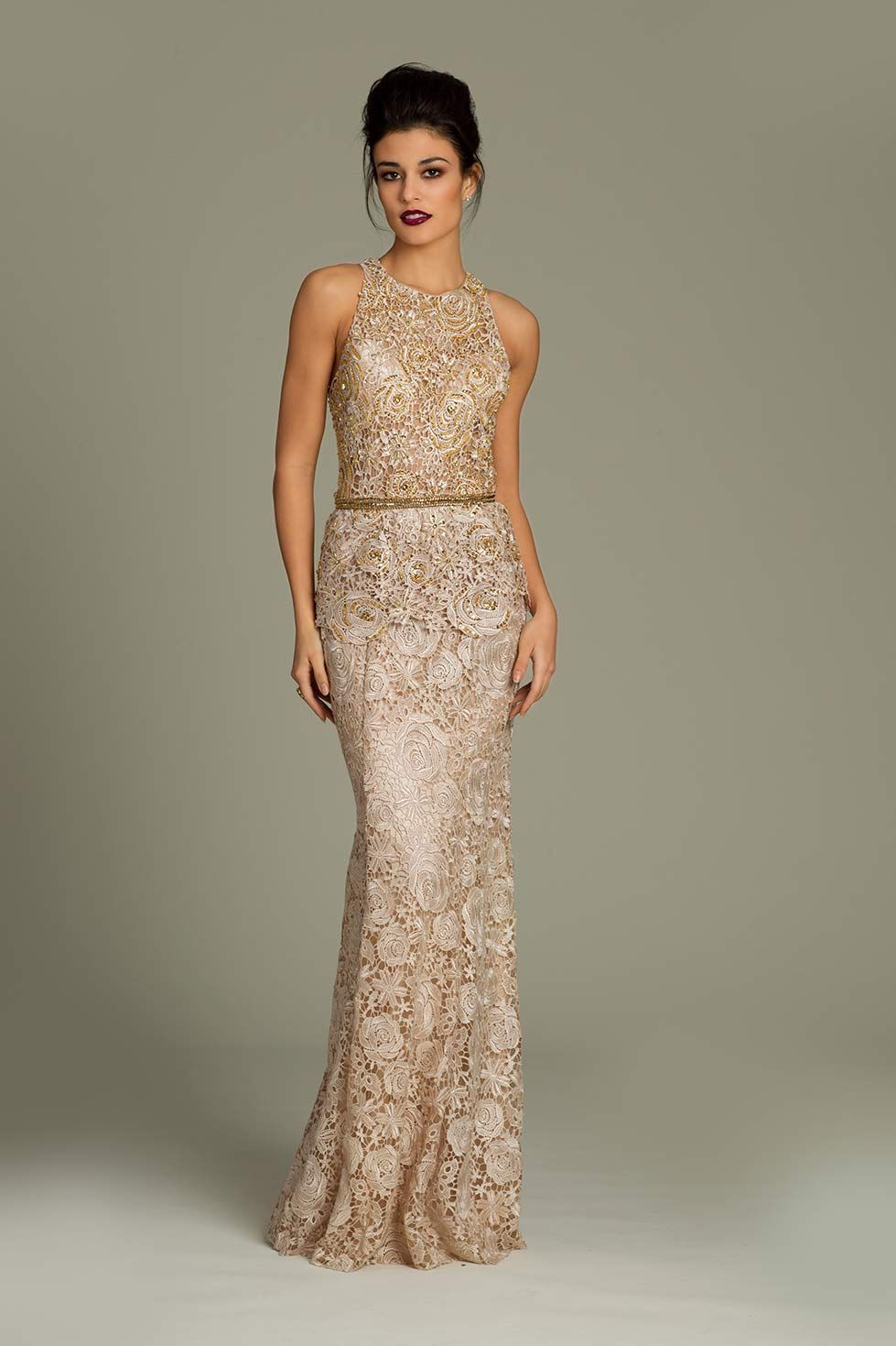 Sleeveless Jovani lace dress | Style | Pinterest | Jovani dresses ...