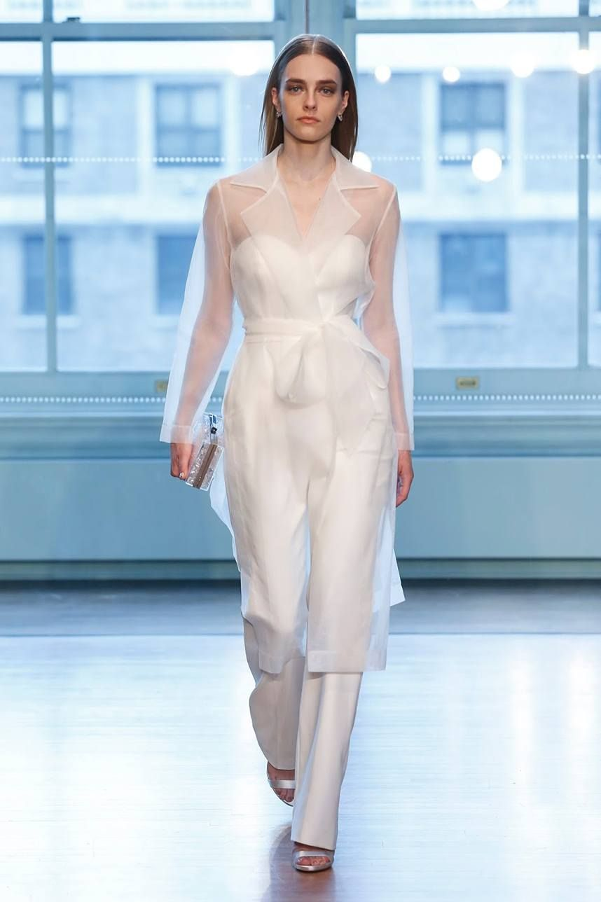 a721a7f9d34 Top Trends from New York Spring Summer 2019 Bridal Fashion Week ...