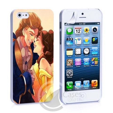 Beauty and the Beast Disney New iPhone 4, 4S, 5, 5C, 5S Samsung Galaxy – iCasesStore