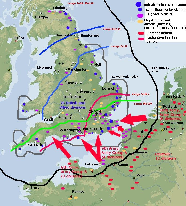 Map Of England During Ww2.Map Battle Of Britain Px800 Jpg 721 800 Battle Of Britain