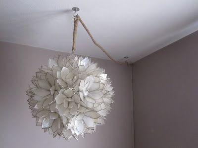 How To Hang And Hide The Cords Of A Pendant Lamp With Images