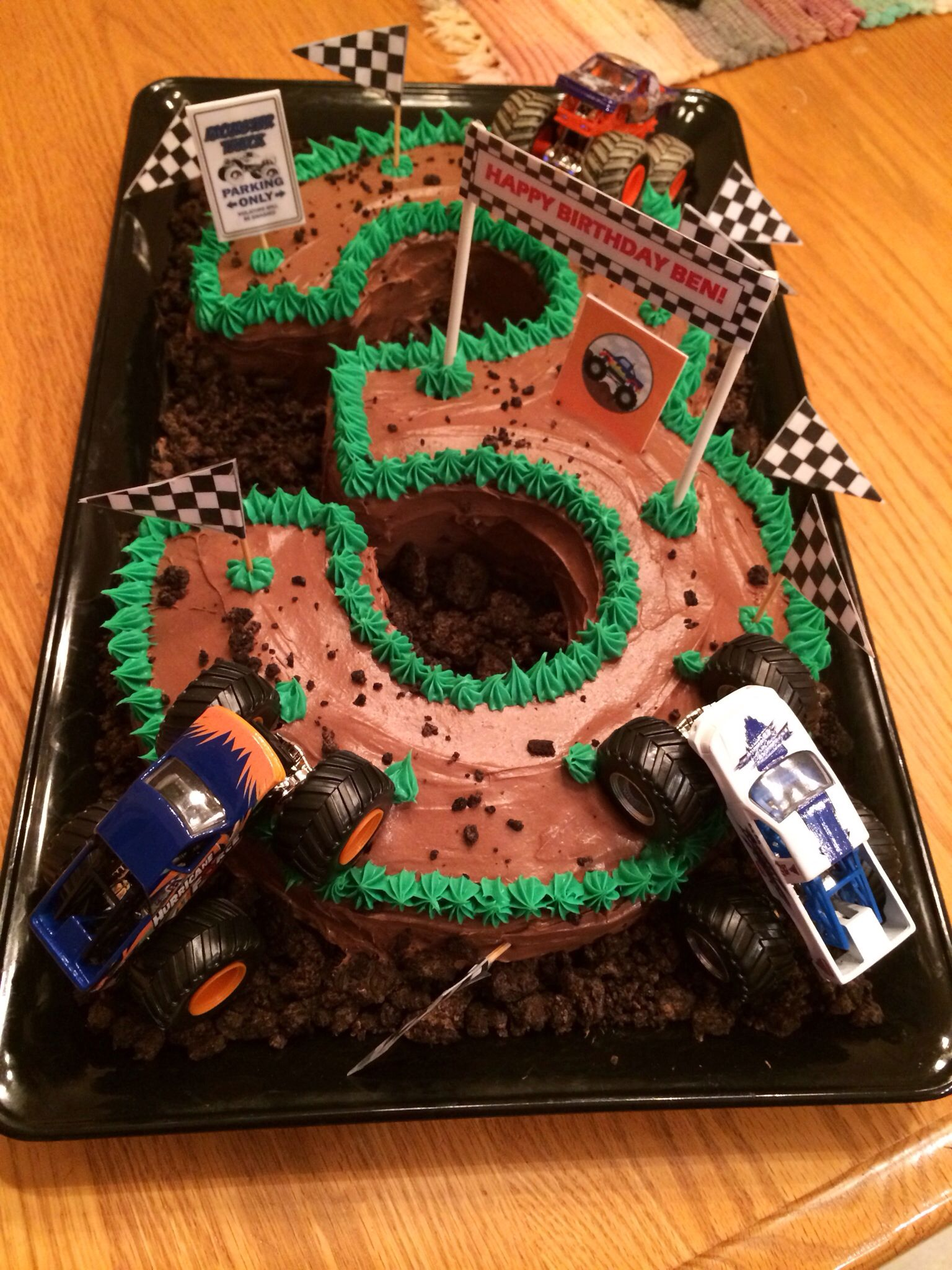 Monster Truck Cake Made By Amy Volby