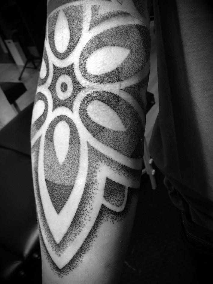 Dotwork by Manuel Winkler, Clockwork Tattoos. http://manuelwinkler.blogspot.com/