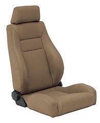 Smittybilt Front Contour Sport Bucket Reclining Seat Spice Denim 87 02 Jeep Wrangler Yj Tj Recliner Wrangler Accessories Sport Seats