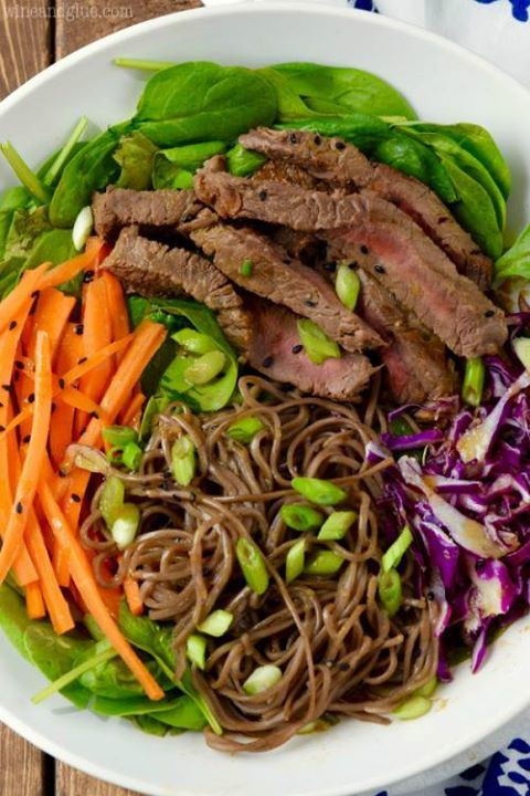 Recipe #LIKE Soba Noodle Steak Salad Make sure to follow cause we post alot of food recipes and DIY  we post Food and drinks  gifts animals and pets and sometimes art and of course Diy and crafts films  music  garden  hair and beauty and make up  health and fitness and yes we do post women's fashion sometimes  and even wedding ideas  travel and sport  science and nature  products and photography  outdoors and indoors  men's fashion too  postersand illustration  funny and humor and even home…